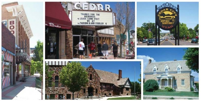 Photo: Historic Buildings of Cedar City